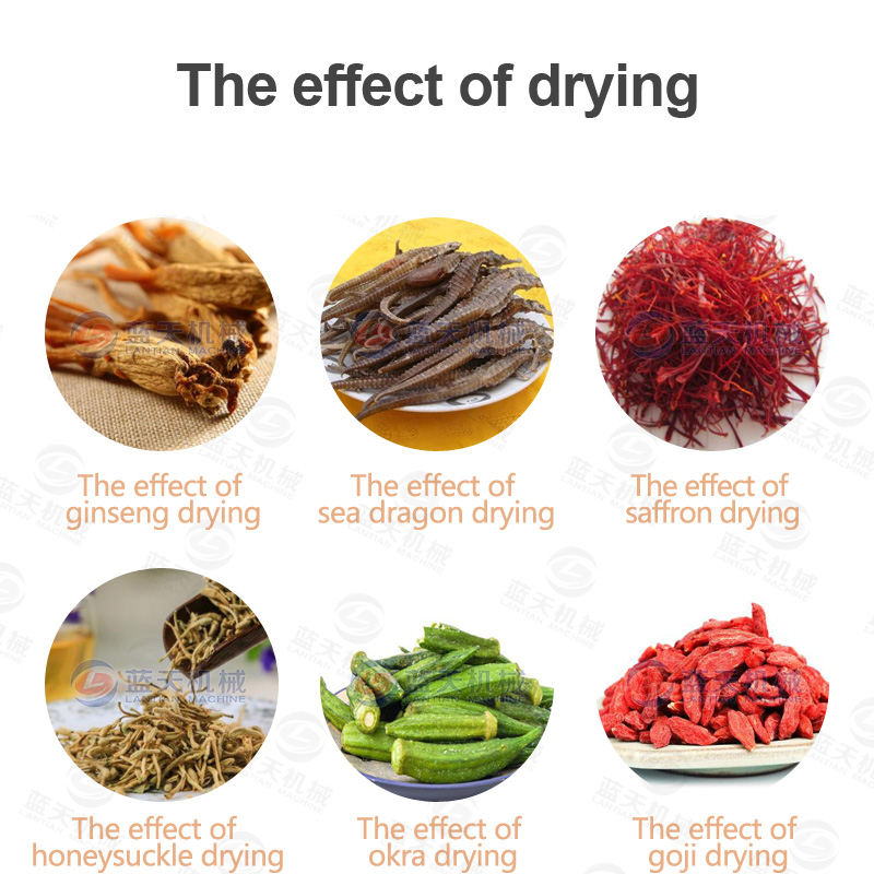 Other medicinal materials drying effect