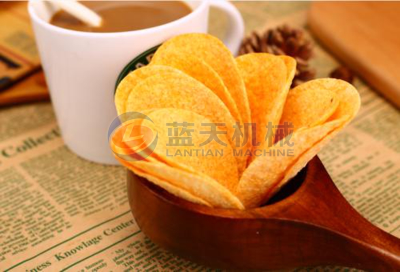 potato chips dryer drying effect