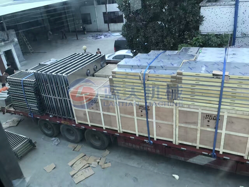 mango slice dryer packaging and transportation