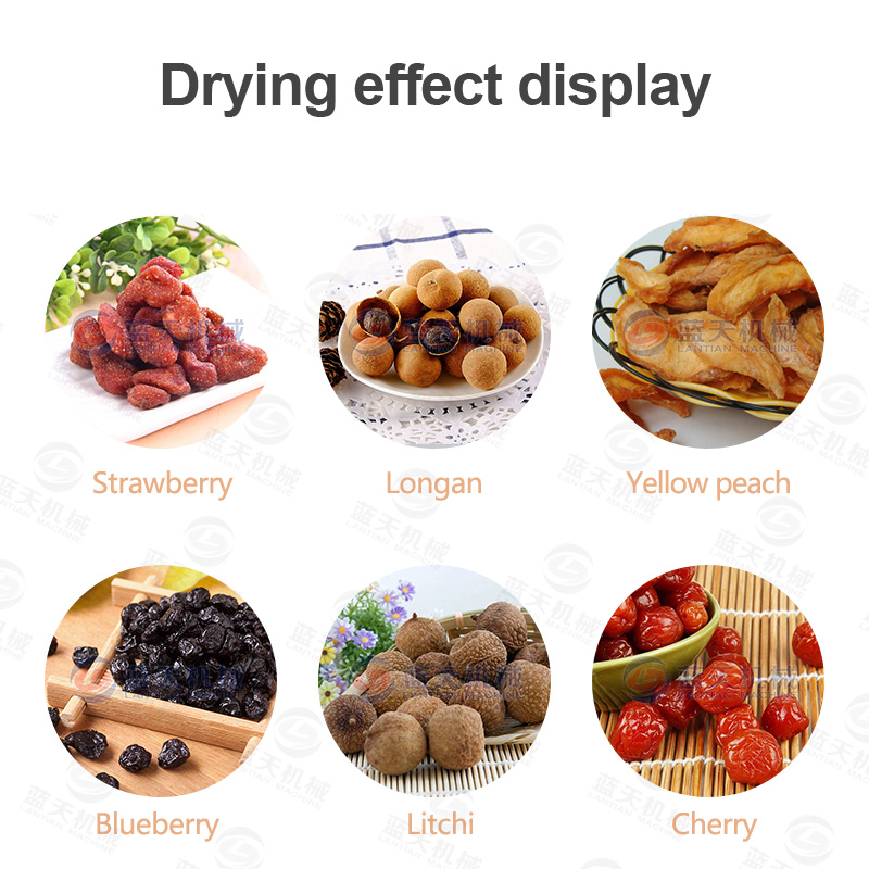 Other fruit drying effects