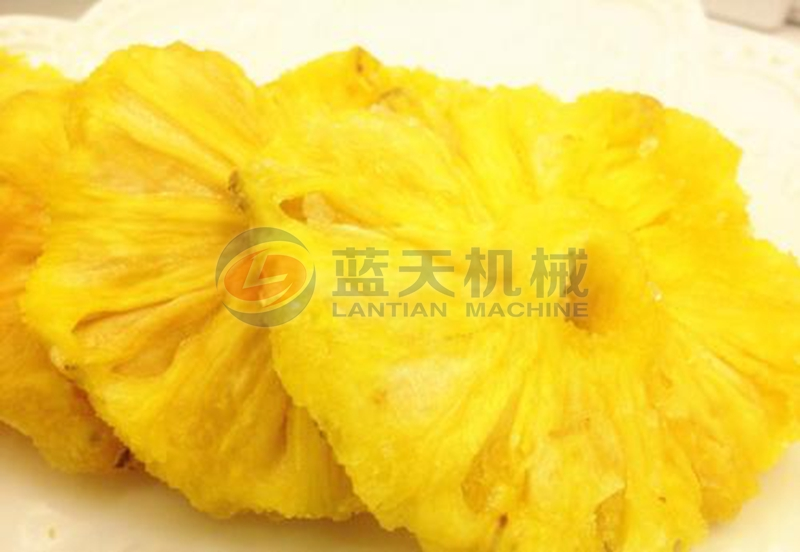 pineapple dryer drying effect