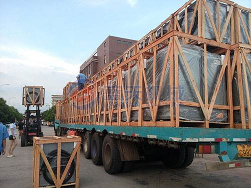 Date palm dryer packaging and transportation