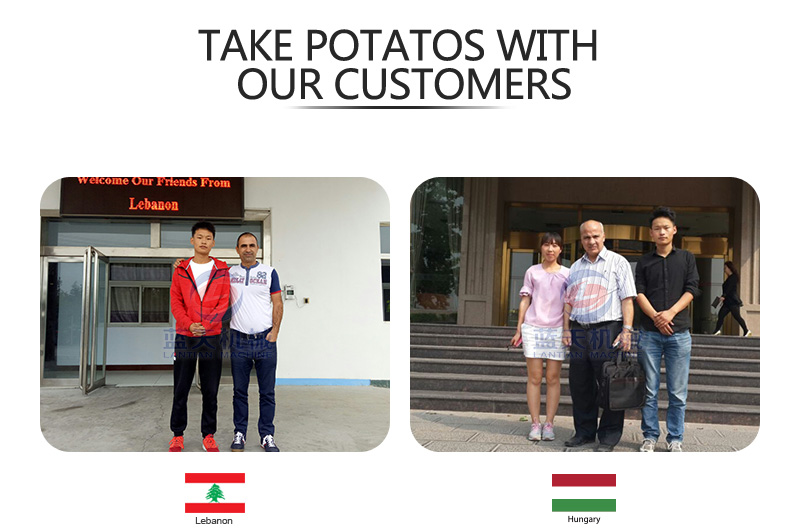 potato cold storage manufacturer with customer