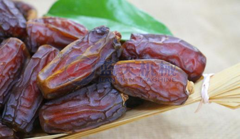 Date drying process
